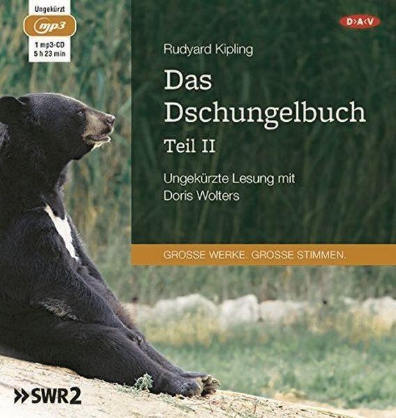Kipling: Das Dschungelbuch 2 (1mp3-CD)
