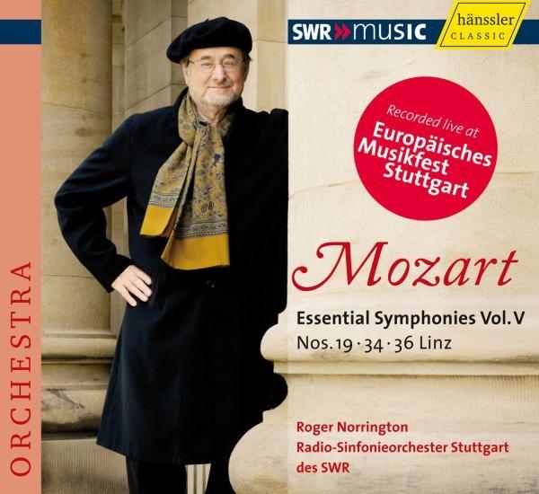 Mozart: Sinfonien 19,34+36