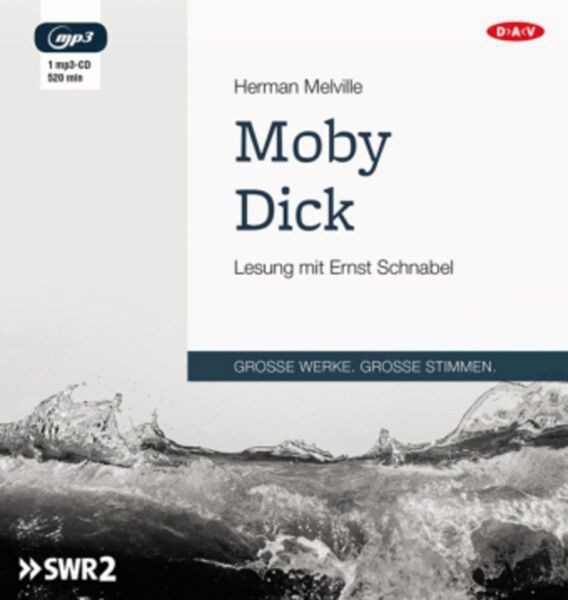 Meville: Moby Dick (1 mp3-CD)