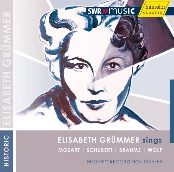 Elisabeth Grümmer singt Mozart/Schubert/Brahms/Wolf