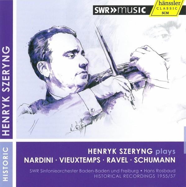 Szeryng plays Nardini Vieuxtemps Ravel Schumann