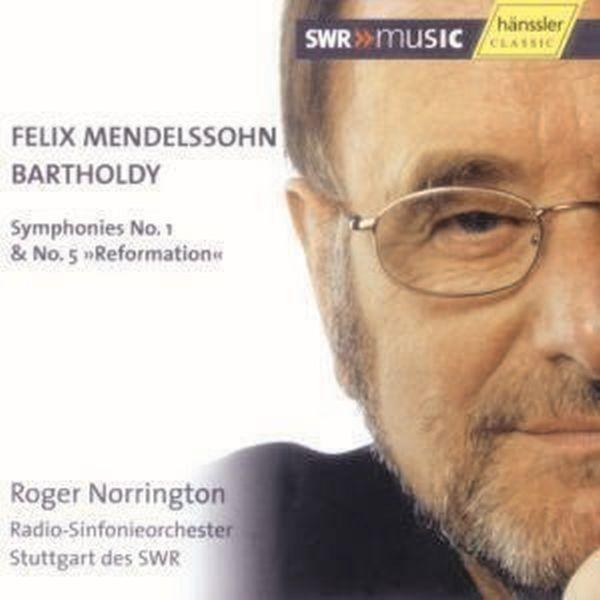 Mendelssohn Bartholdy: Sinfonien 1+5