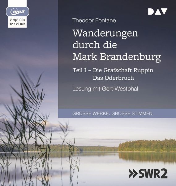 Fontane: Wanderungen M.Brandenburg 1 (2mp3-CD)