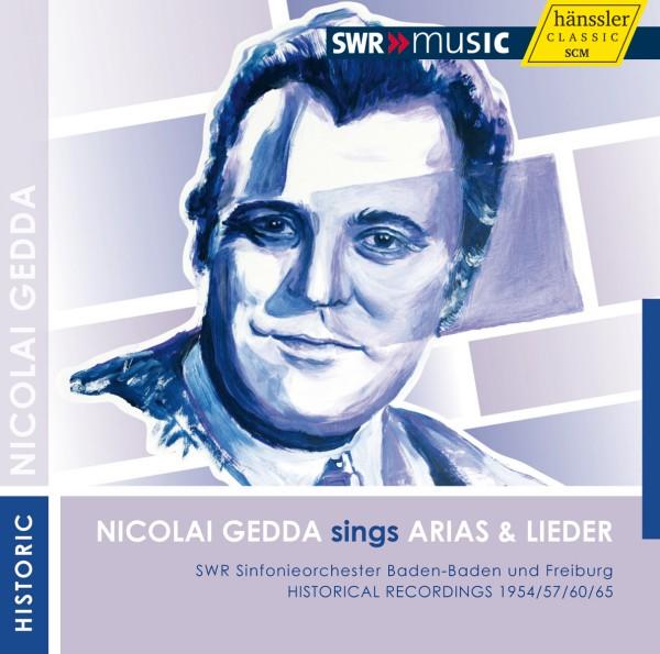 Nicolai Gedda singt Arien und Lieder