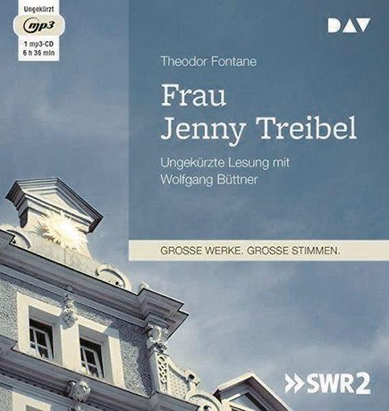 Fontane: Frau Jenny Treibel (1mp3-CD)