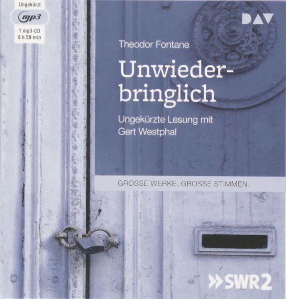 Fontane: Unwiederbringlich (1mp3-CD)