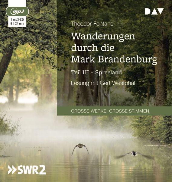 Fontane: Wanderungen M.Brandenburg 3 (1mp3-CD)