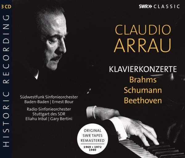 Brahms/Schumann/Beethoven: Klavierkonzerte