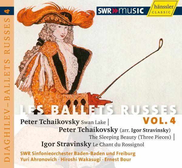 Tschaikowsky/Strawinsky: Les Ballets Russes Vol.4